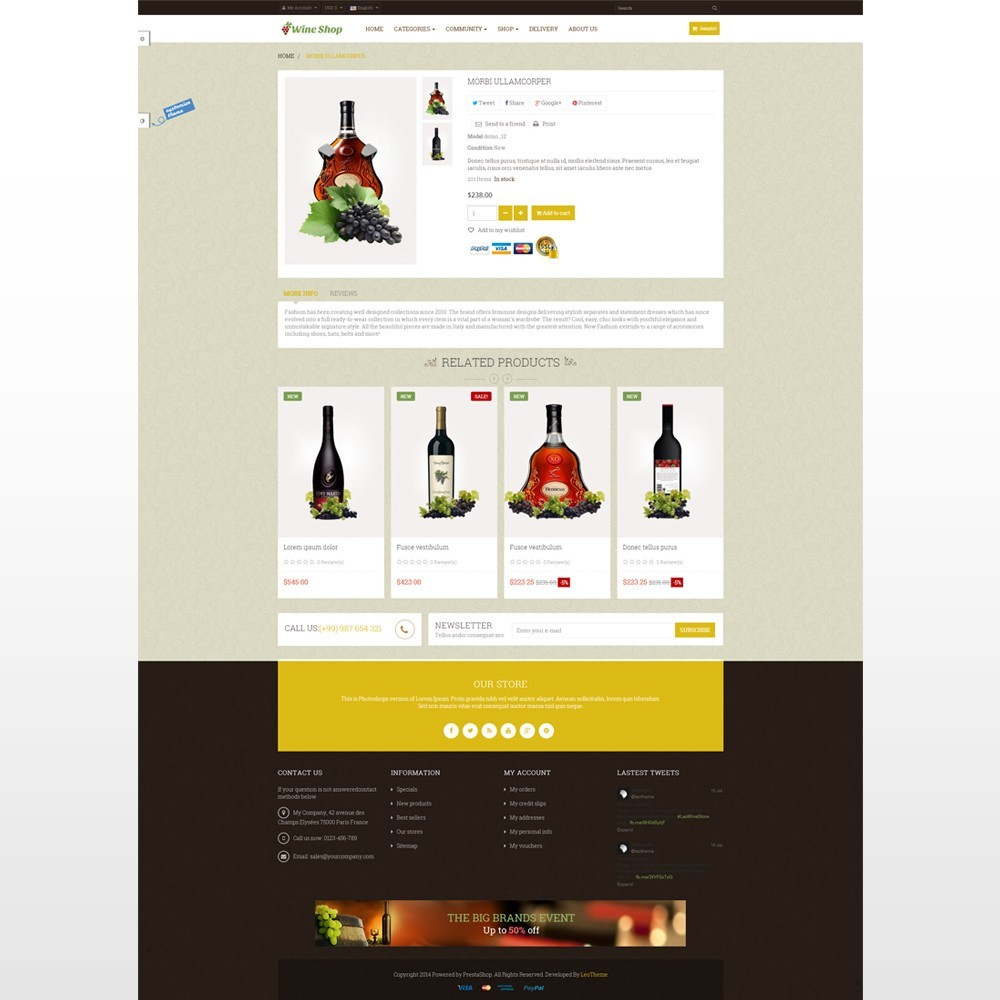 theme - Drink & Wine - Leo Wine Store - 4