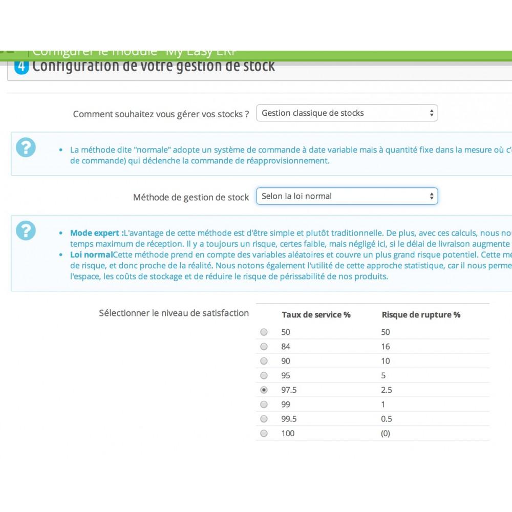 module - Connexion à un logiciel tiers (CRM, ERP...) - My Easy ERP - 14