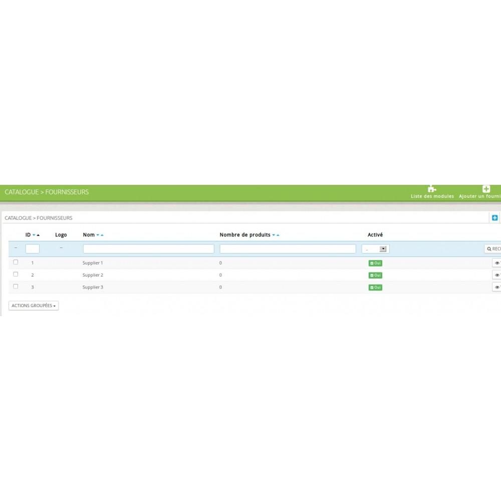 module - Dropshipping - Dropshipping - Envoi des commandes par mail automatique - 2