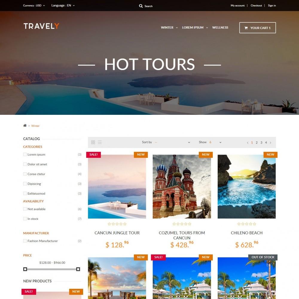 theme - Спорт и Путешествия - Туристическое Агенство - 2