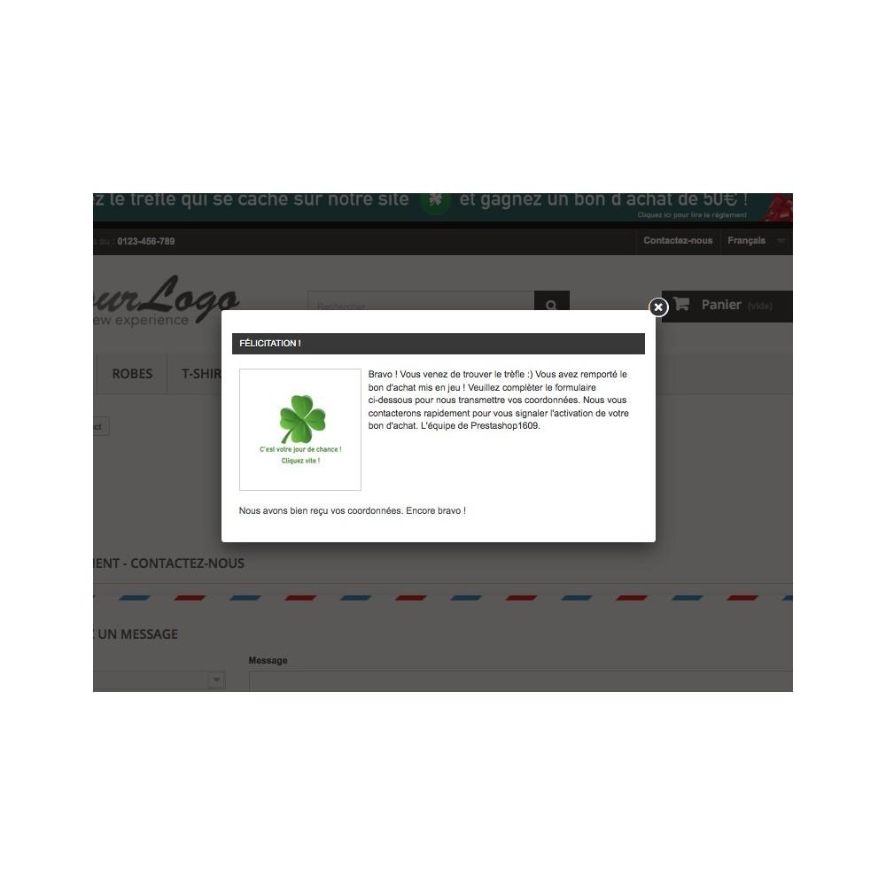 module - Jeux-concours - Chasse au trésor / FindClover - 1