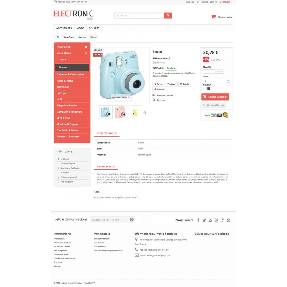 theme - Electronique & High Tech - ELECTROSHOP - 3