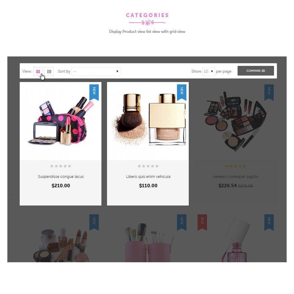 theme - Health & Beauty - Cosmetic Shop - 2