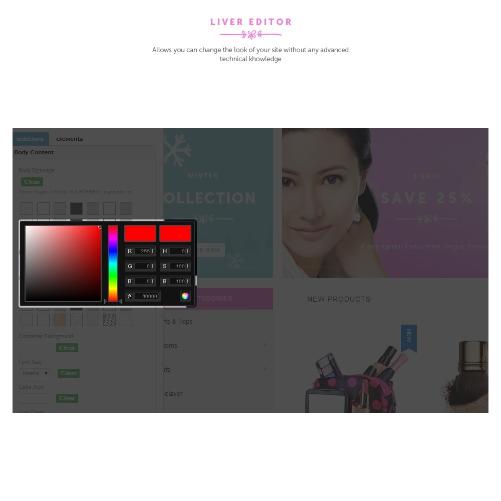 theme - Salute & Bellezza - Cosmetic Shop - 5
