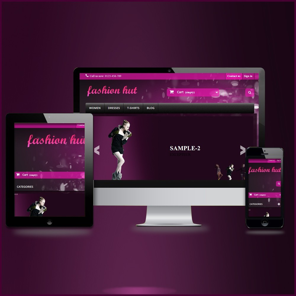 theme - Moda & Obuwie - RESPONSIVE FASHION-HUT THEME - 1