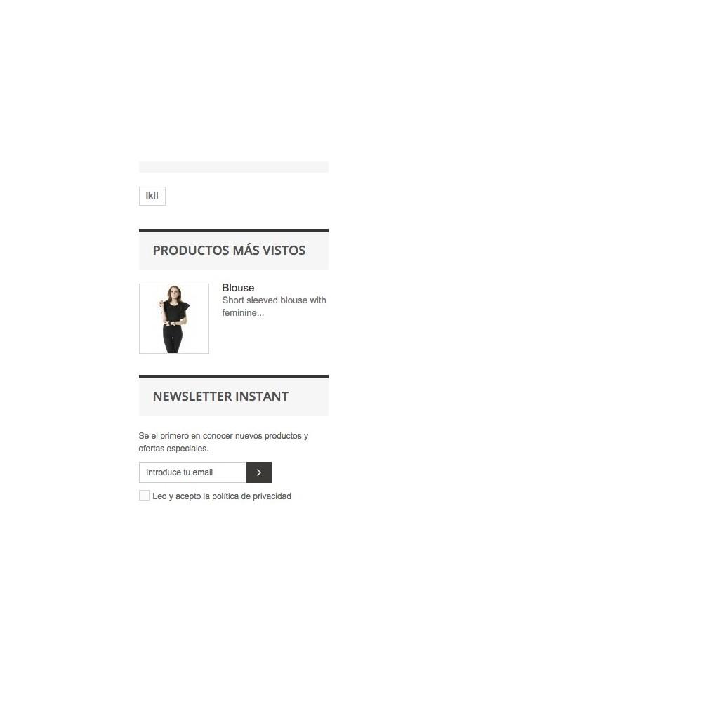 module - Newsletter y SMS - Bloque Instantáneo Newsletter - 3