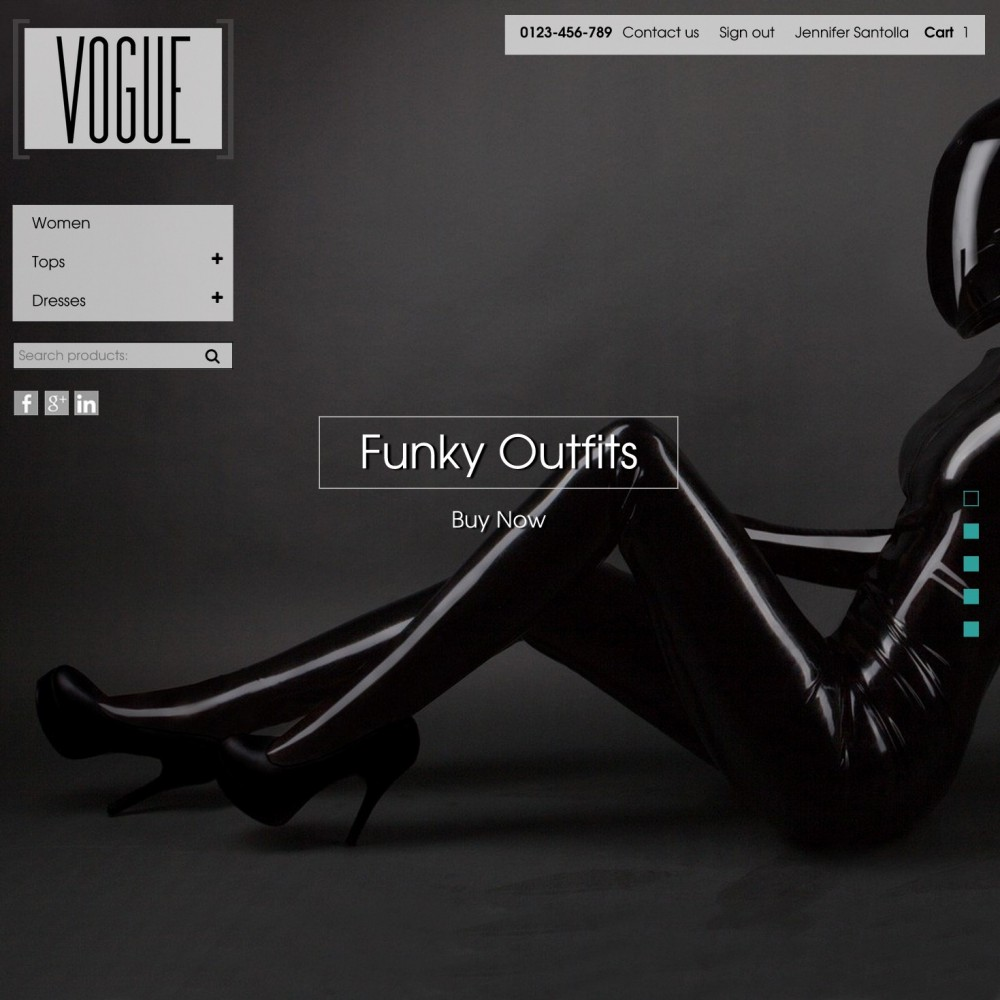 theme - Fashion & Shoes - Vogue Parallax Masonry Prestashop Theme - 1