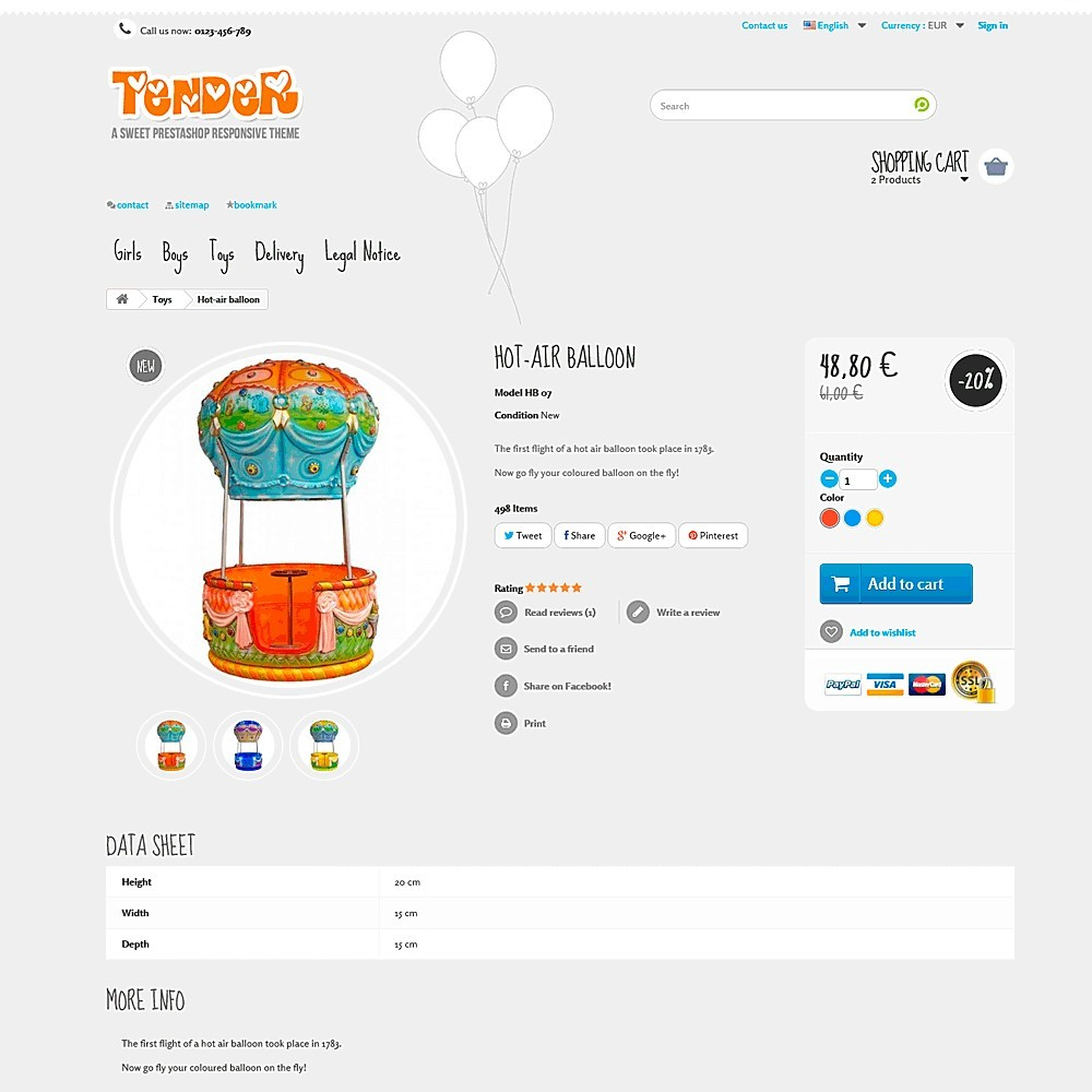 theme - Kids & Toys - Tender Responsive - 5