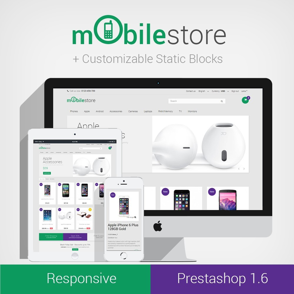 theme - Elettronica & High Tech - Digital Mobile Store Responsive - 1