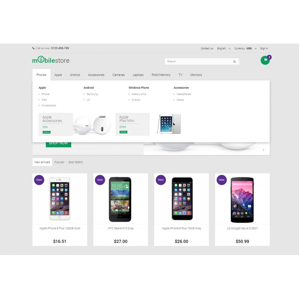 theme - Электроника и компьютеры - Digital Mobile Store Responsive - 5