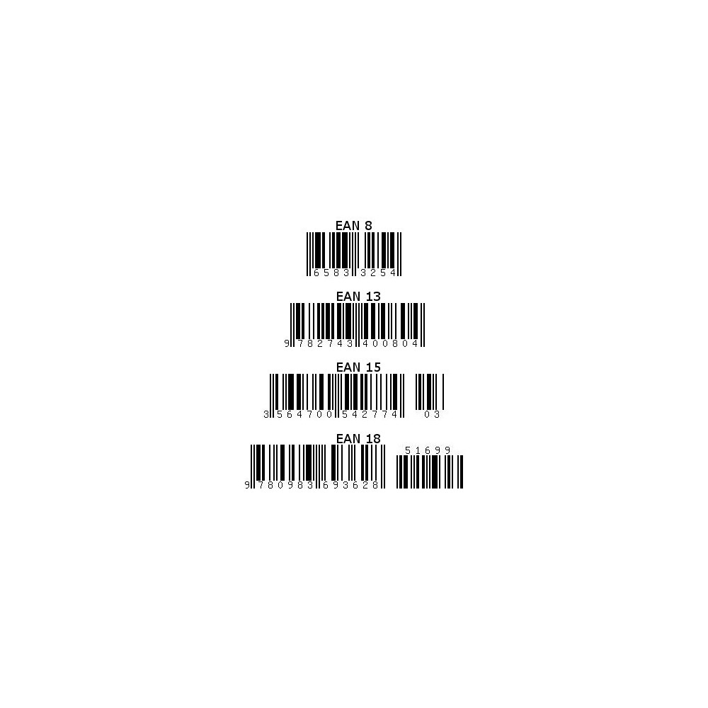 module - Preparation & Shipping - Barcode EAN 8, 13, 15, 18 and stocks - 1