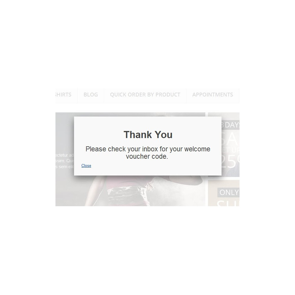 module - Pop-up - Newsletter Subscription Popup Form with Voucher Code - 2