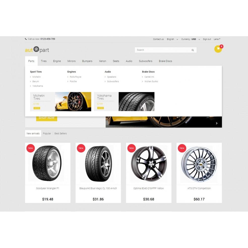 theme - Samochody - AutoPart Prestashop 1.6 Responsive Theme - 5
