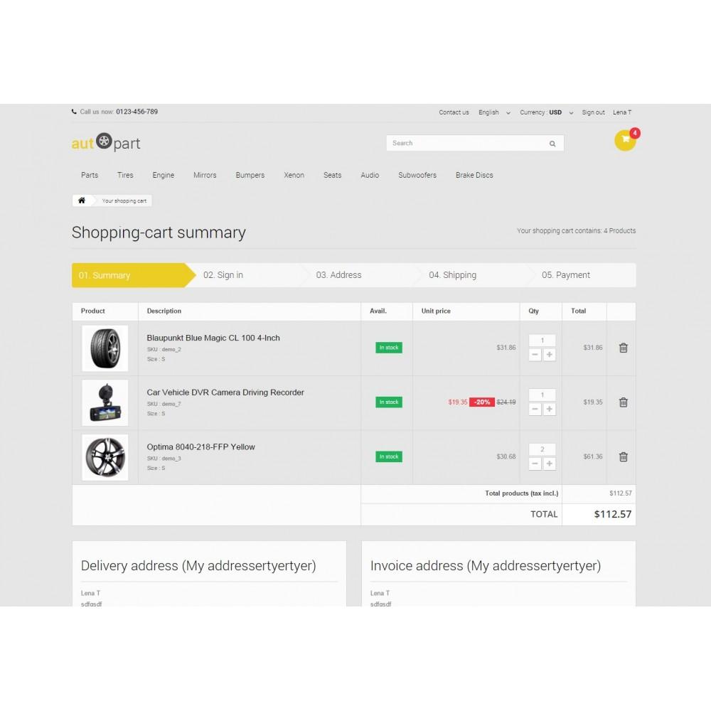 theme - Samochody - AutoPart Prestashop 1.6 Responsive Theme - 9