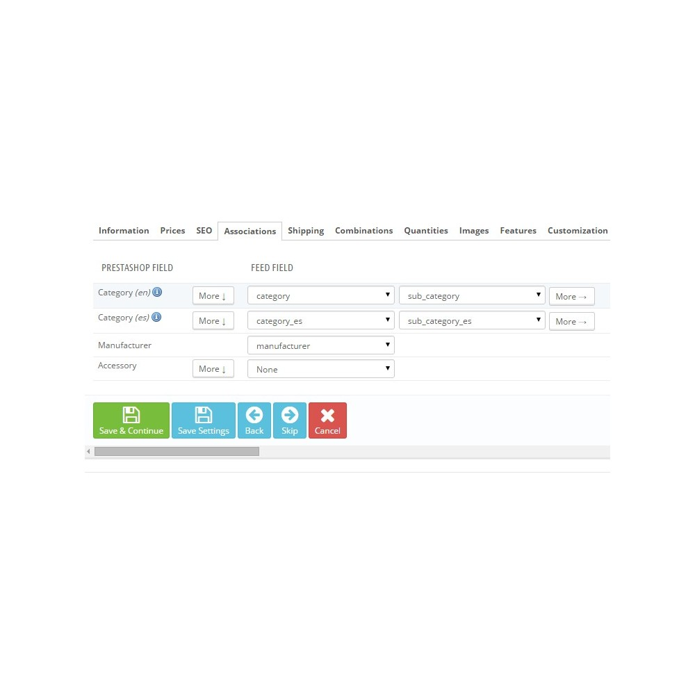 module - Importeren en Exporteren van data - Total Import PRO - 2