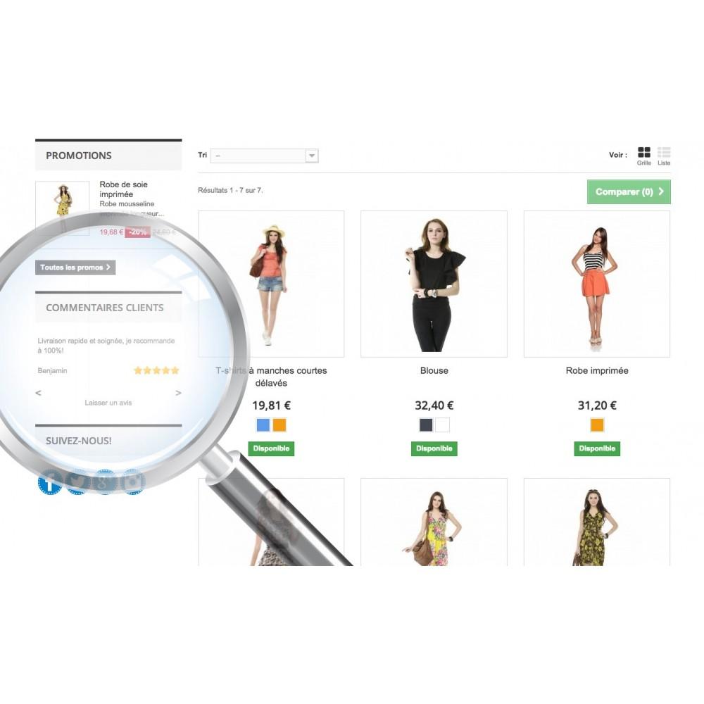 module - Avis clients - Commentaires & avis clients - 1