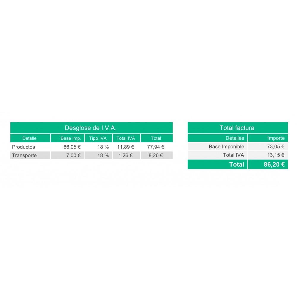 module - Contabilidad y Facturas - Factura personalizada - 4