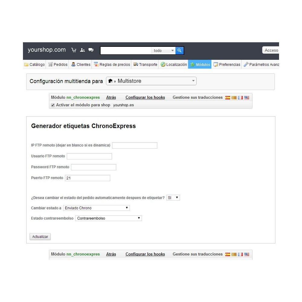 module - Preparación y Envíos - Chronoexpres Alereti - 1 click print - 2