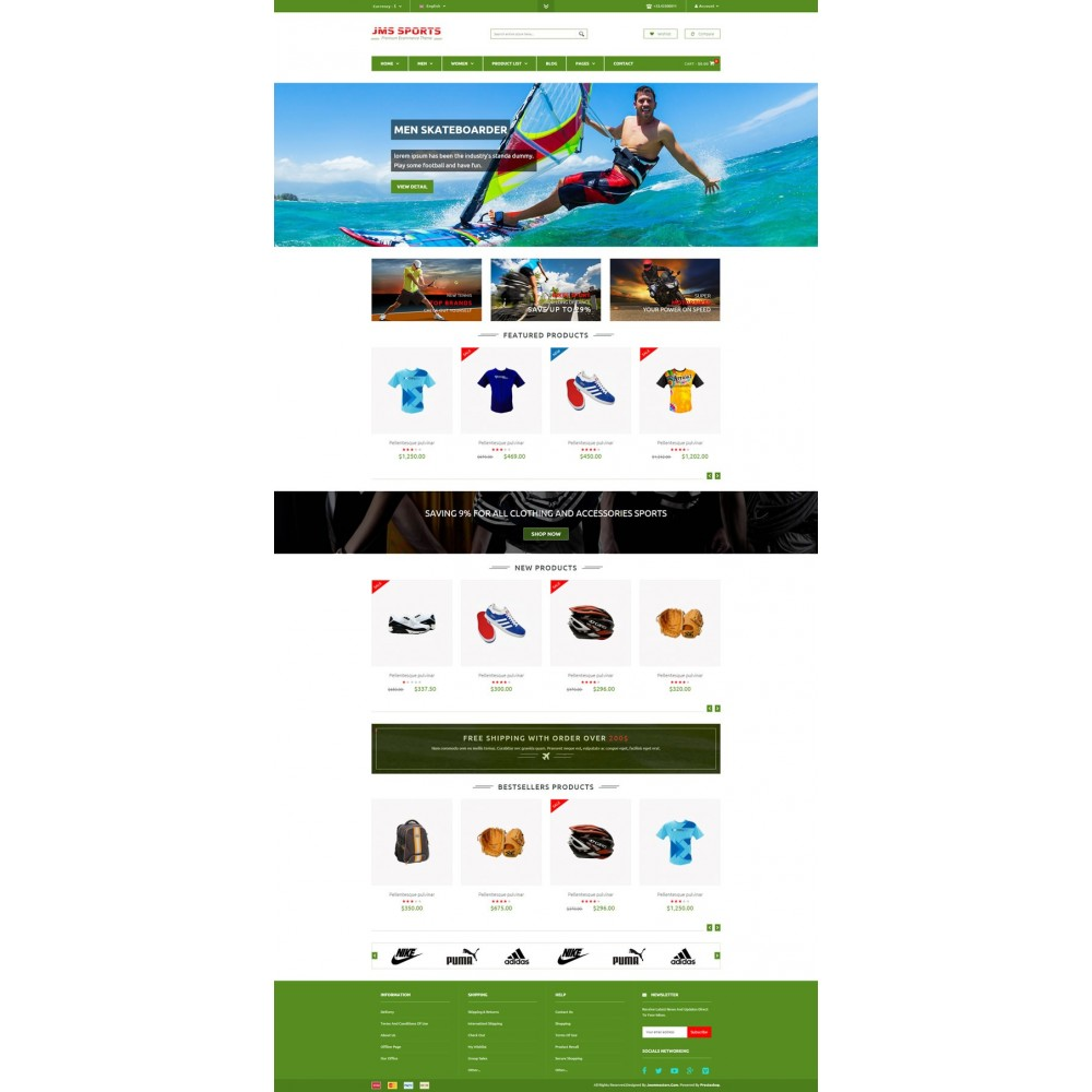 theme - Sports, Activities & Travel - JMS Sport - 7