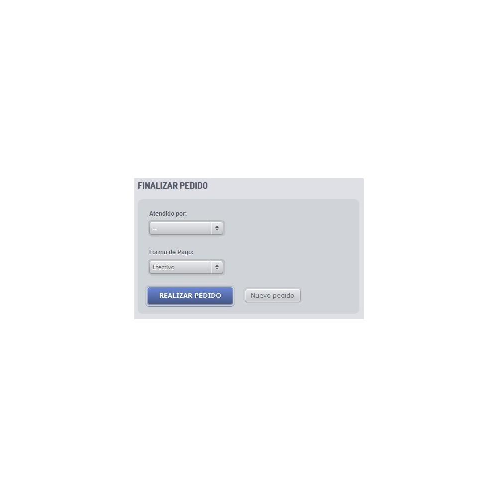 module - Software de caixa (POS) - POS dejavu - 2