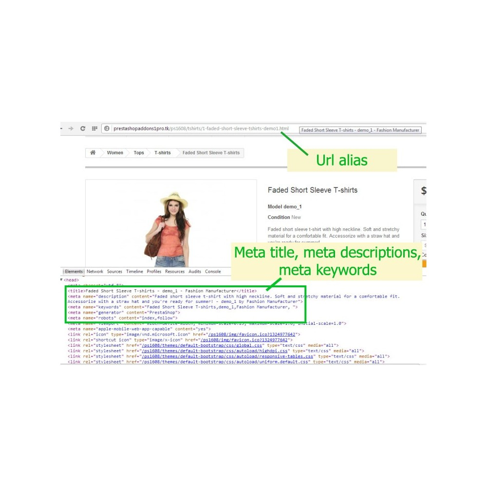 module - SEO (Indicizzazione naturale) - [SEO Ultimate] Advanced URL, META Tags And Social - 2