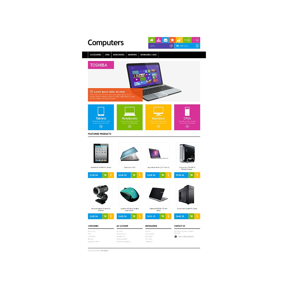 theme - Elektronik & High Tech - Responsive Computers Store - 2