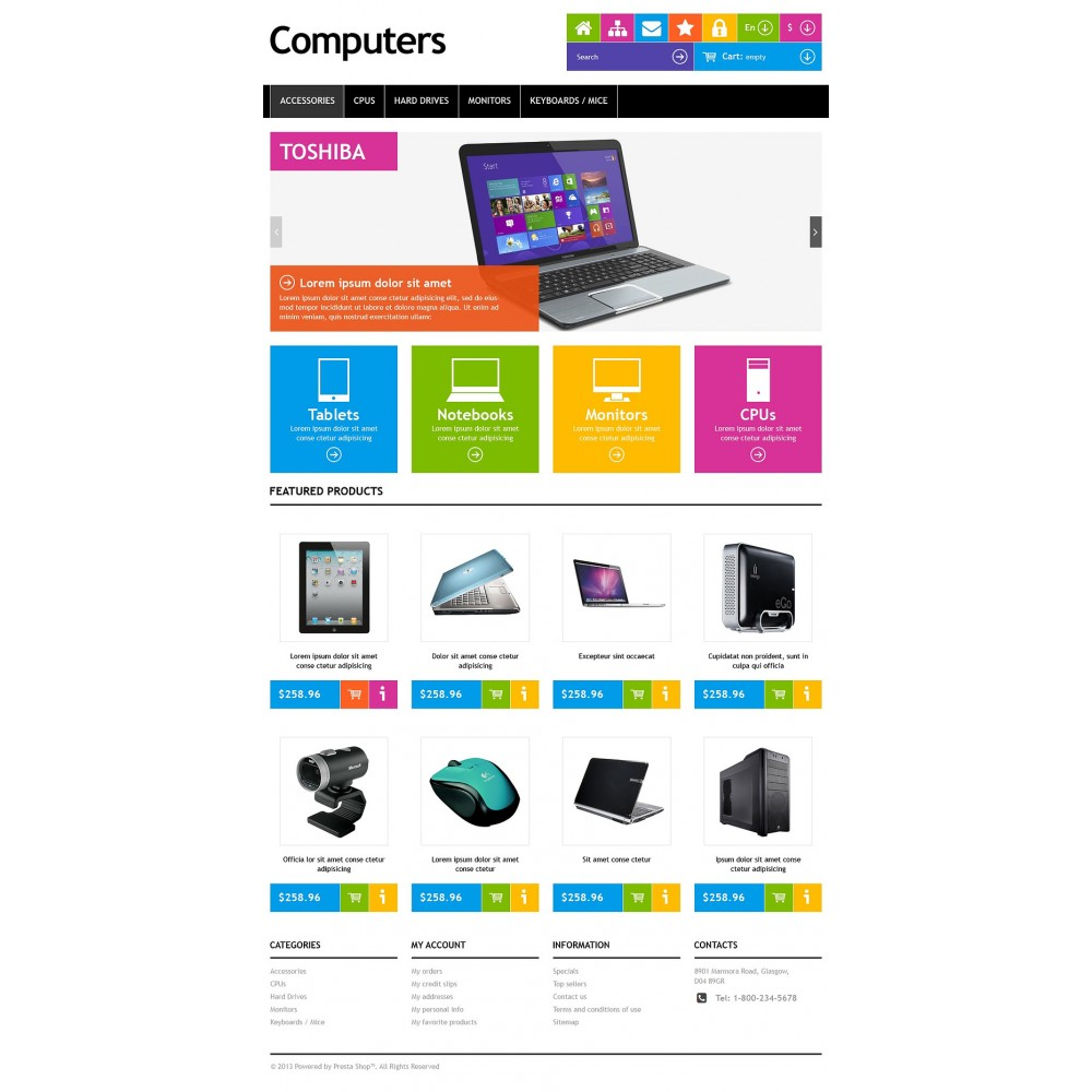 theme - Elektronik & High Tech - Responsive Computers Store - 7