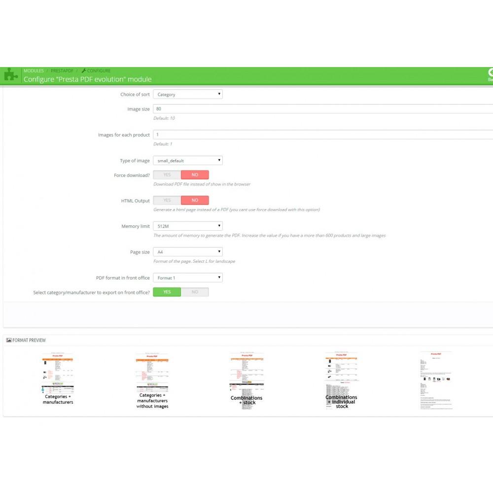 module - Import & Export de données - RSI PDF/HTML catalog  evolution - 3