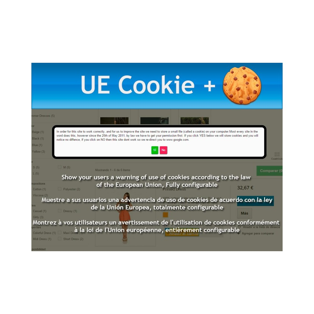 module - Legal - UE Cookie + European Cookie Law - 1