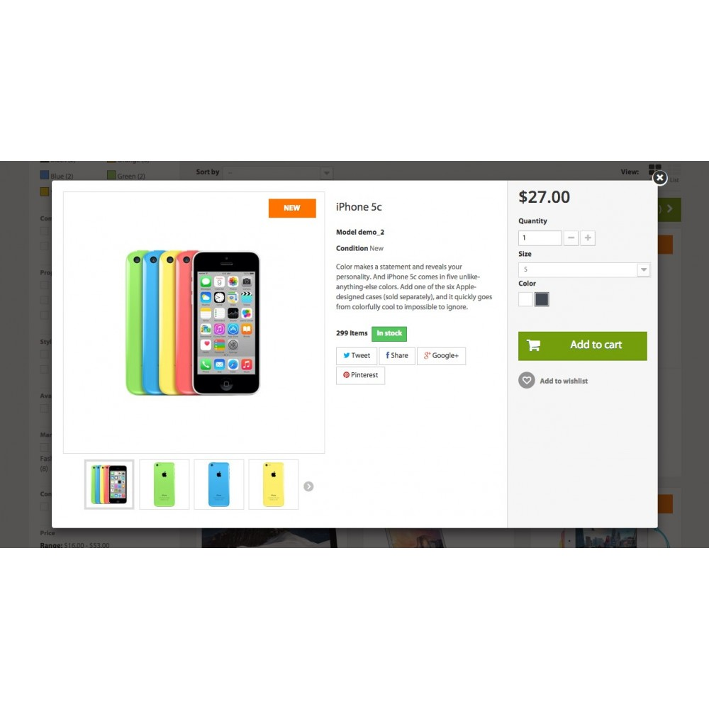 theme - Electrónica e High Tech - iGood Apple Mobile Prestashop 1.6 Responsive - 7