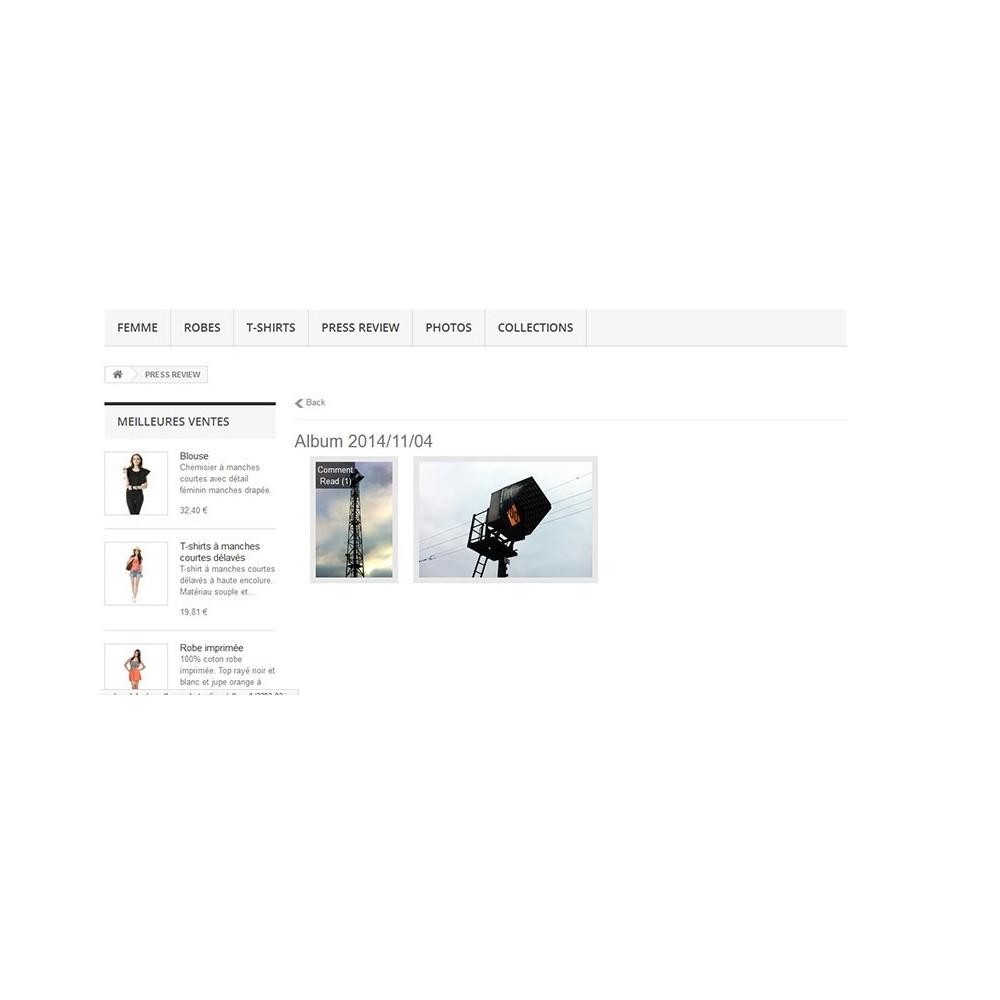 module - Sliders & Galeries - Albums photos - 5