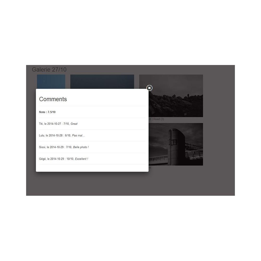 module - Sliders & Galeries - Albums photos - 6