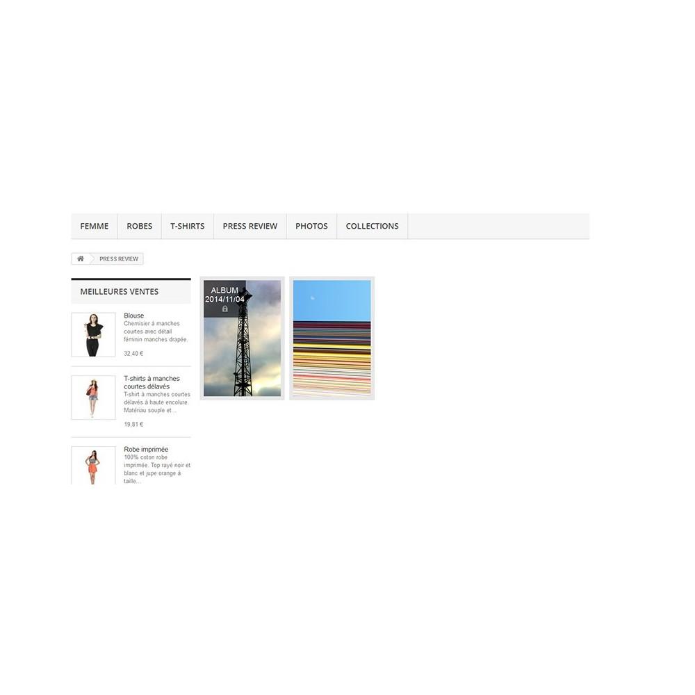 module - Sliders & Galerias - Pictures albums - 4