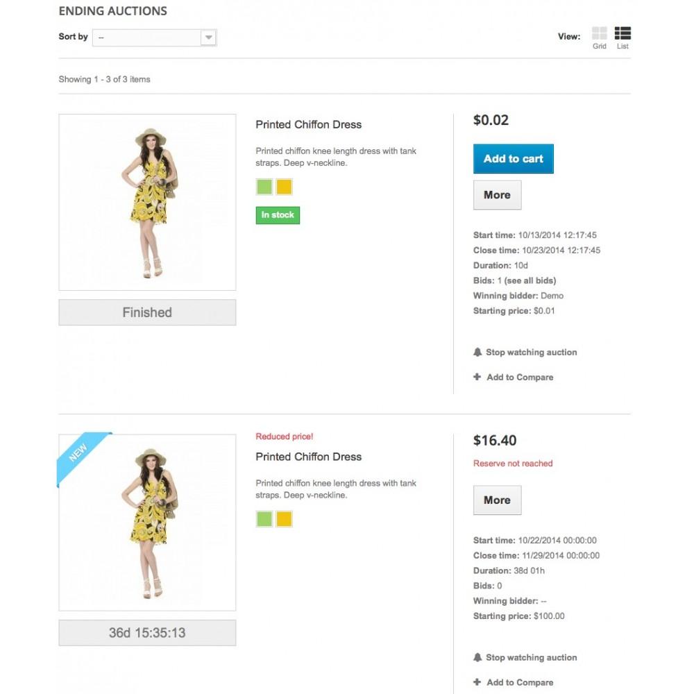 module - Zbuduj stronę aukcyjną - Auctions - 6