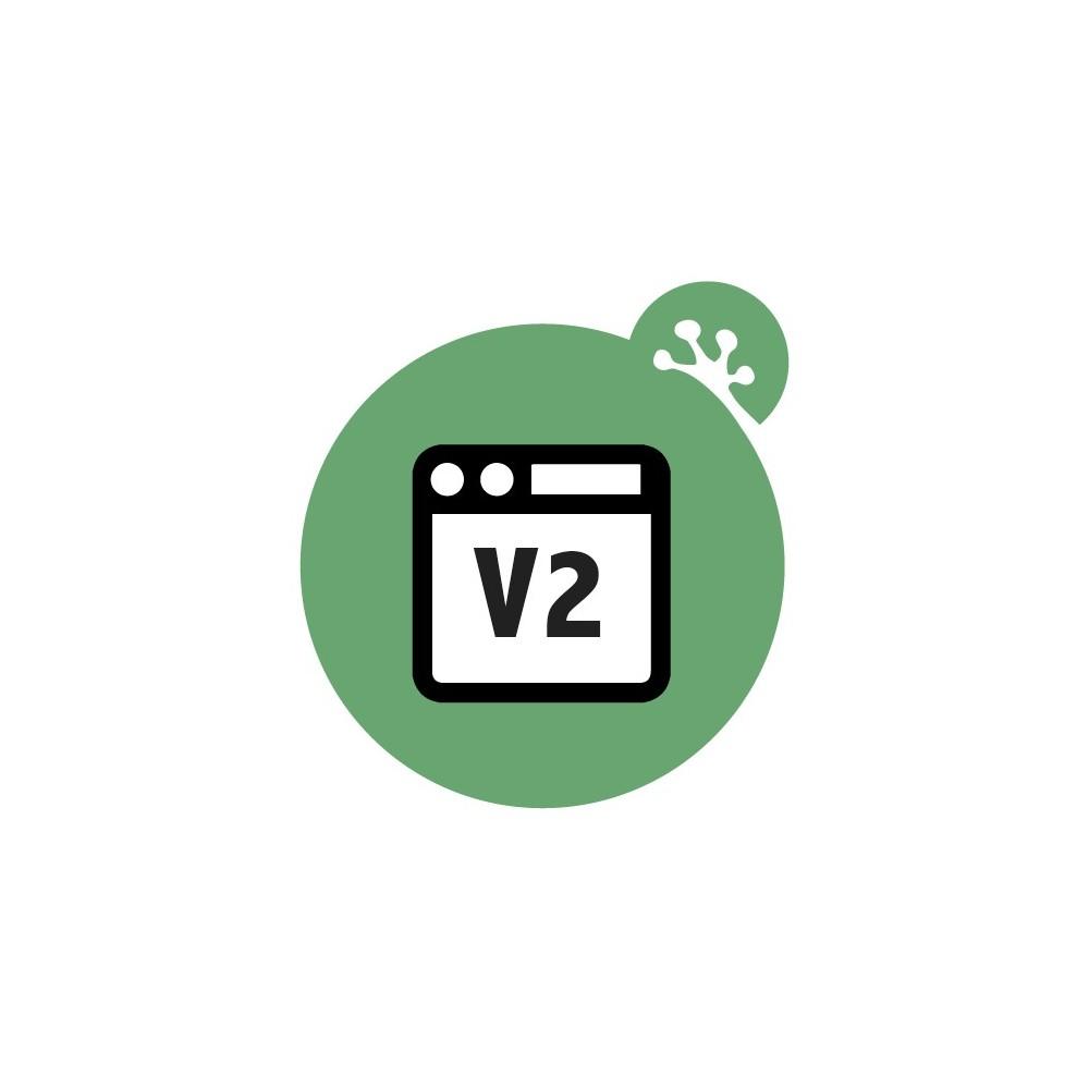 module - Amministrazione - Froggy Advanced Toolbar - 1