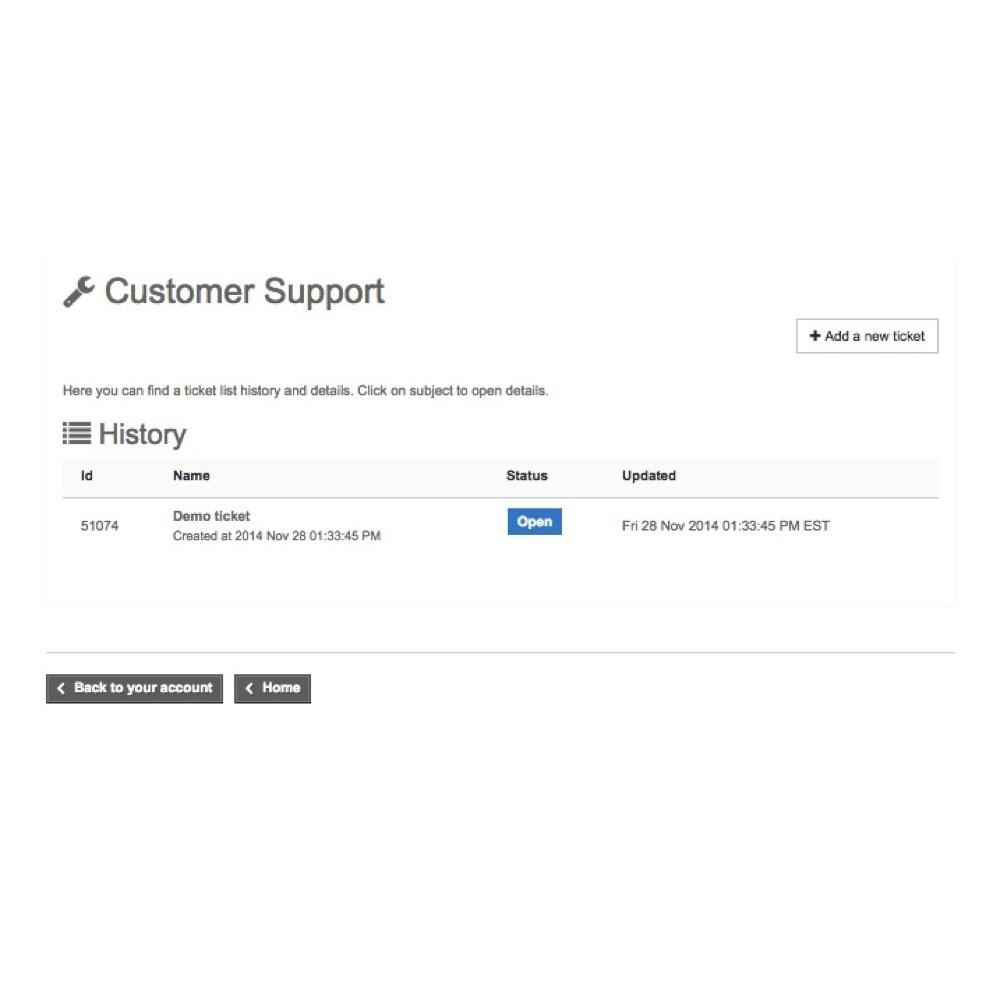 module - Kundenservice - Freshdesk - 3