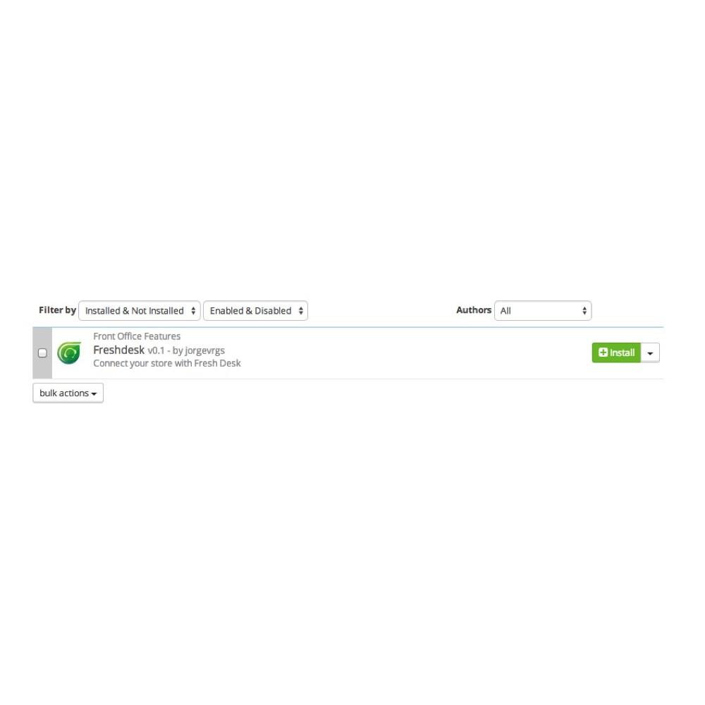 module - Servizio post-vendita - Freshdesk - 5