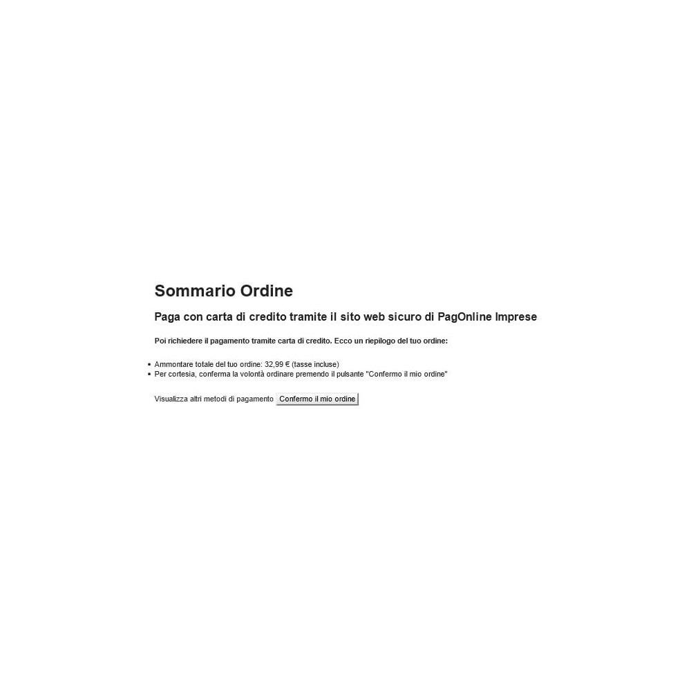 module - Pago con Tarjeta o Carteras digitales - Unicredit PagOnline Imprese - 18