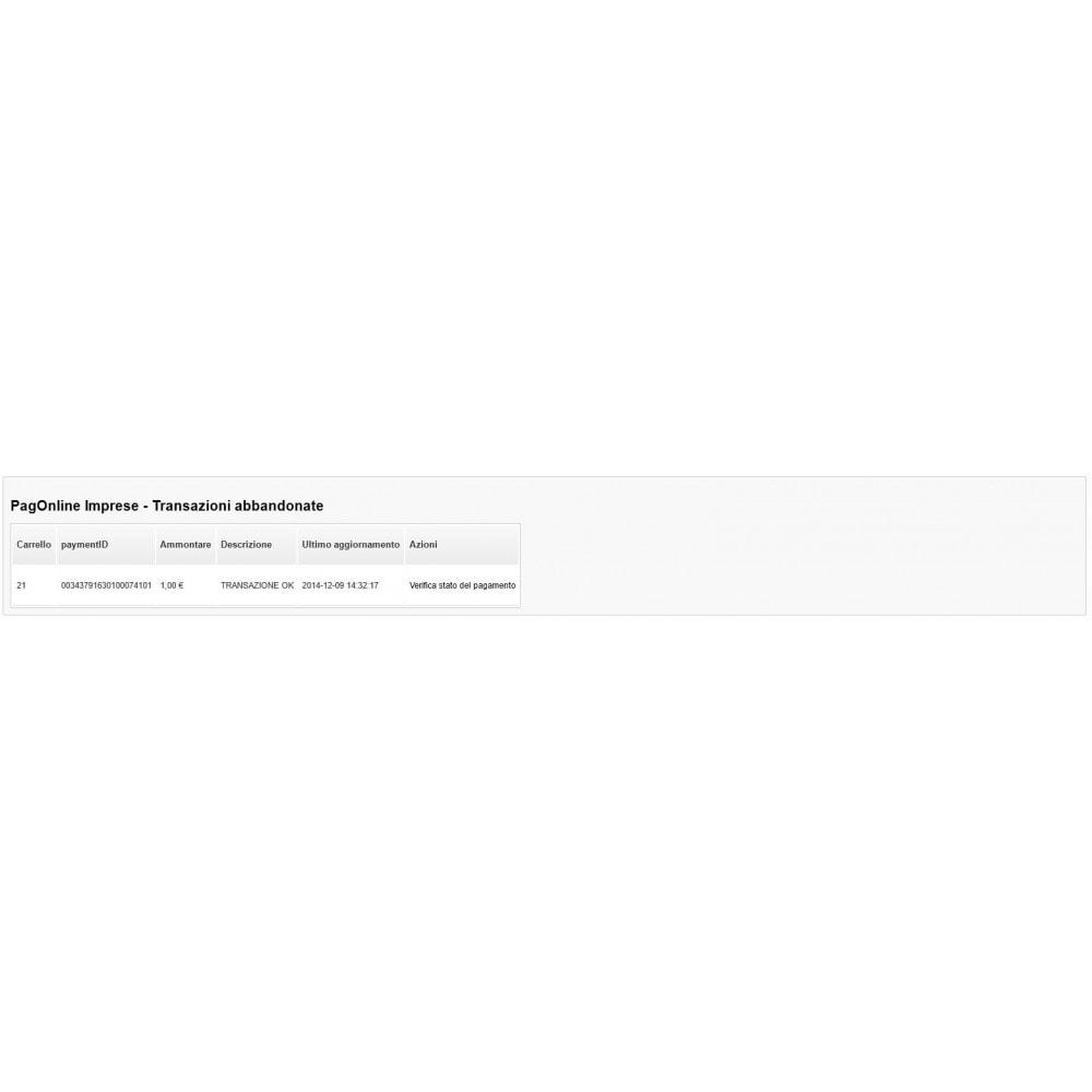 module - Creditcardbetaling of Walletbetaling - Unicredit PagOnline Imprese - 20