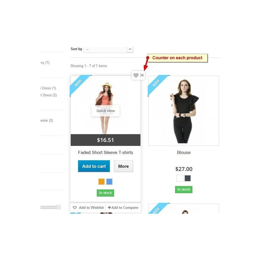 module - Отзывы клиентов - Product Likes, Customer Ratings - 6