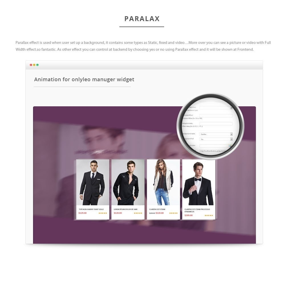 module - Individuelle Seitengestaltung - Leo Manage Widget - 6