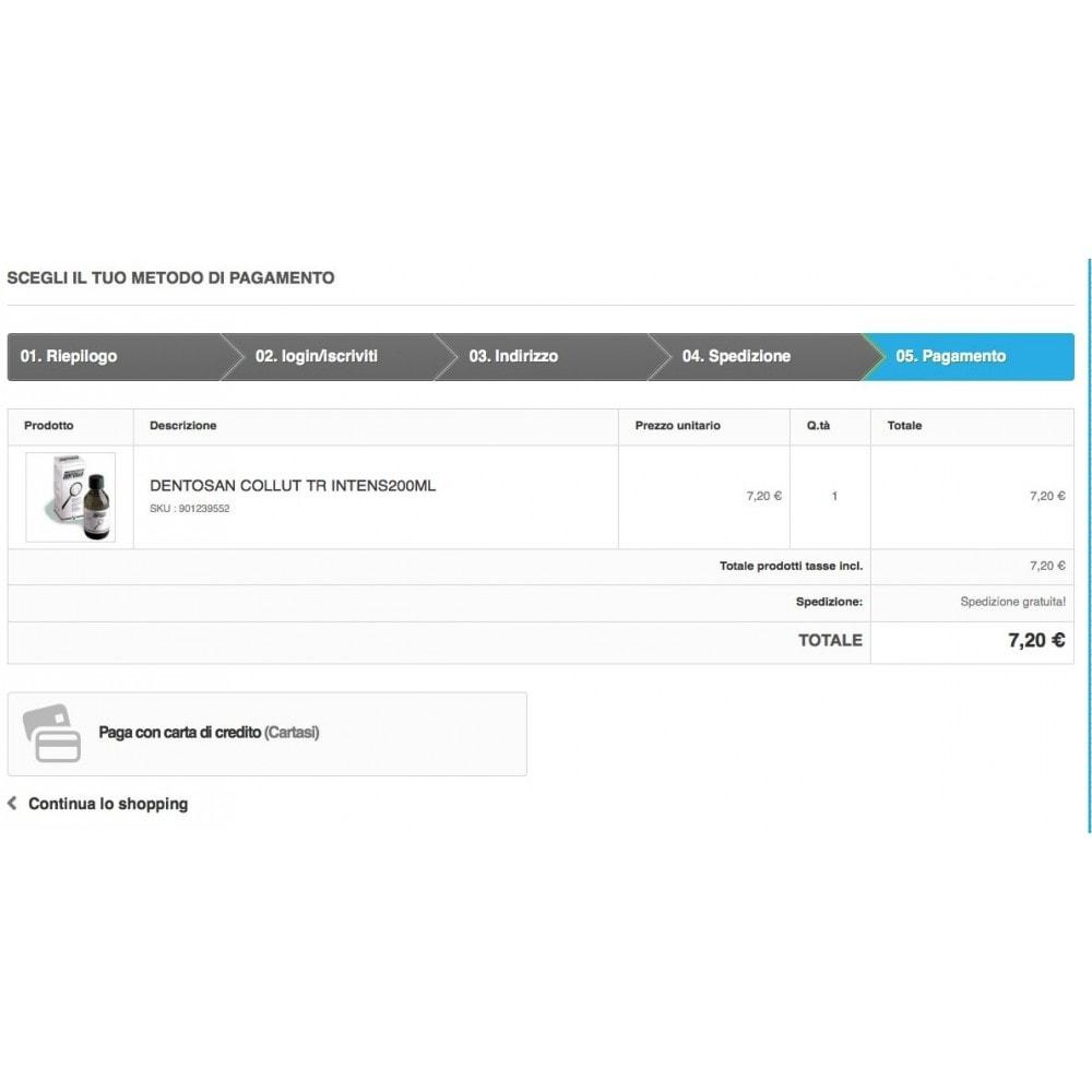 module - Pagamento con Carta di Credito o Wallet - Cartasi Quipago X-pay Keyclient - 4