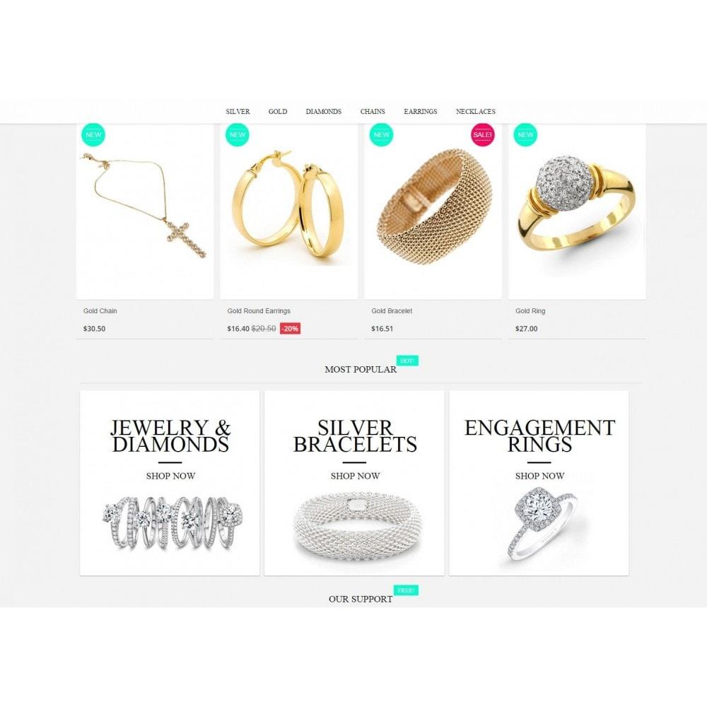 theme - Sieraden & Accessoires - Jewelry Prestashop 1.6 Responsive - 4