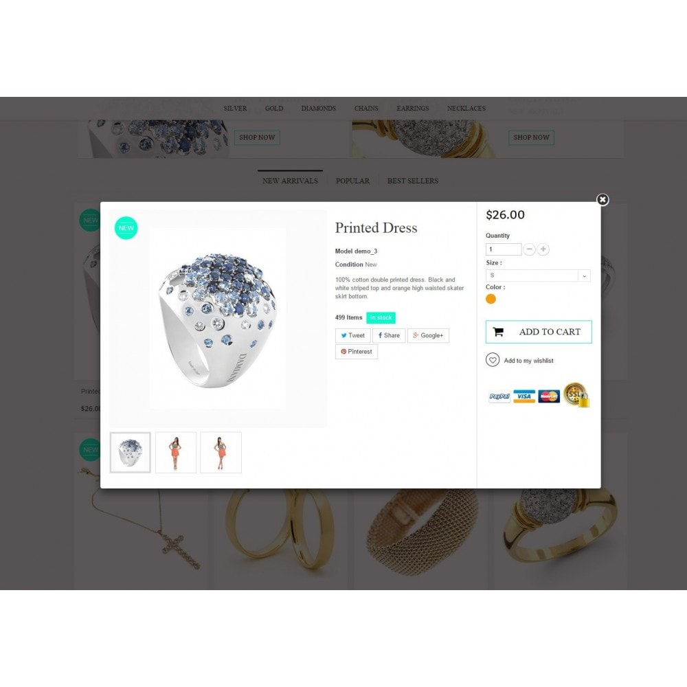 theme - Jewelry & Accessories - Jewelry Prestashop 1.6 Responsive - 7