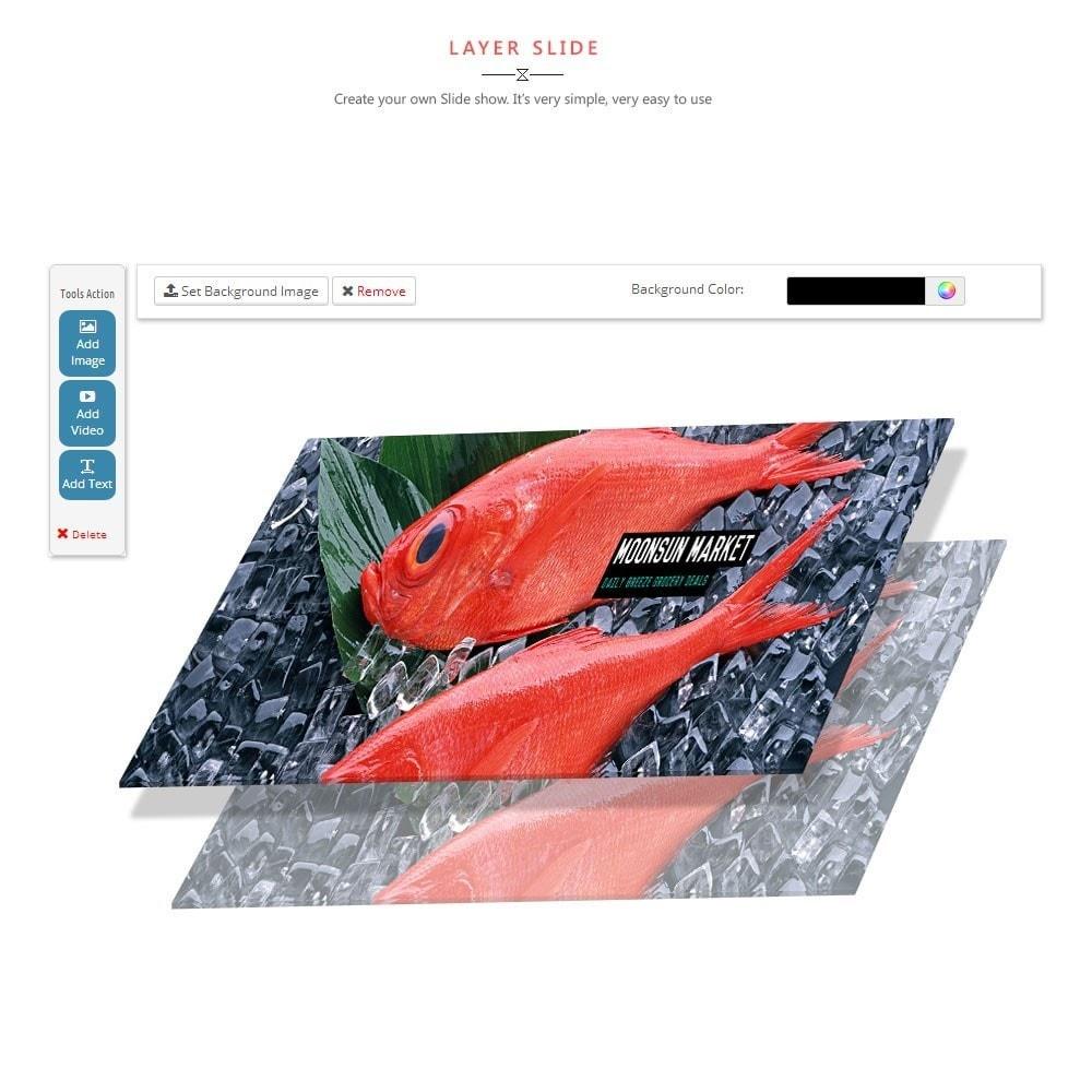 theme - Cibo & Ristorazione - Leo Moonsun Market - 2