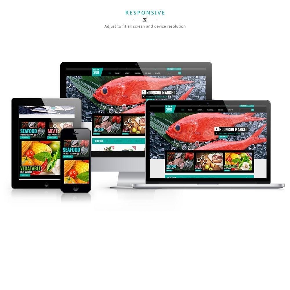 theme - Cibo & Ristorazione - Leo Moonsun Market - 1