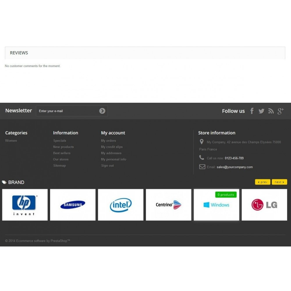 module - Marques & Fabricants - Responsive Brand Logos Carousel - 4