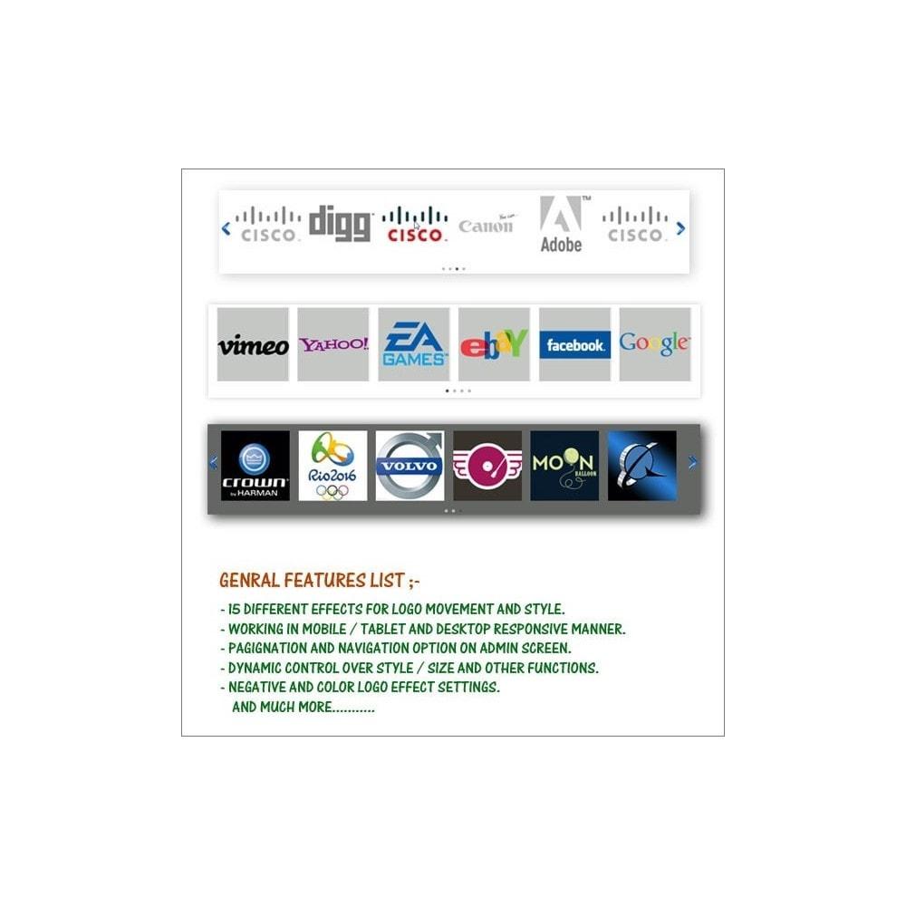 module - Инструменты навигации - Easy Responsive Logo Scroller - 1