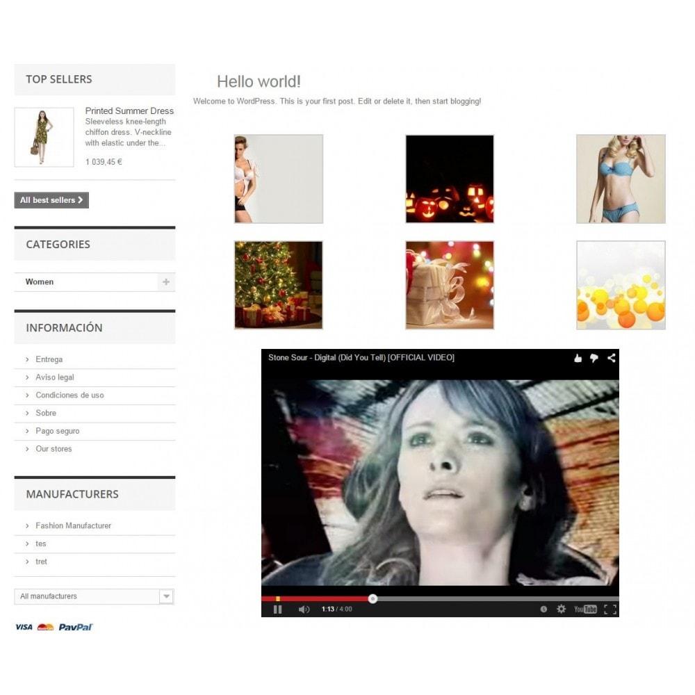 module - Blog, Foro y Noticias - Wpress - Wordpress en su tienda - 13