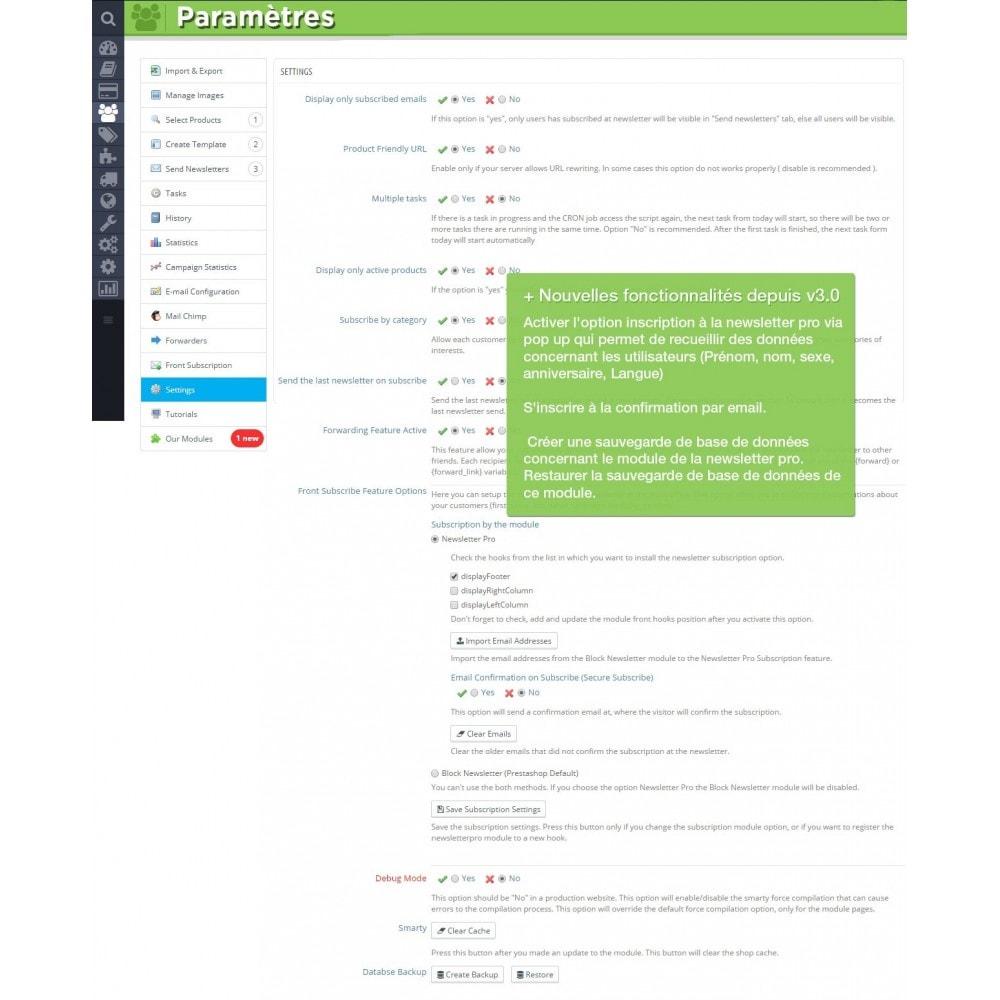 module - Newsletter & SMS - Newsletter Pro - 22